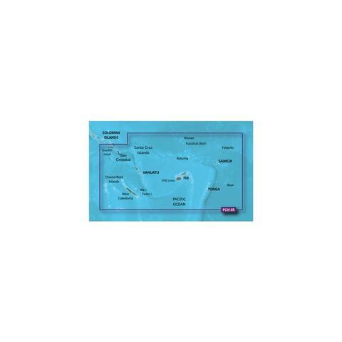 Garmin BlueChart g2 HD - HXPC018R (microSD/SD Card) New Caledonia To Fiji Digital Map - Multicolor