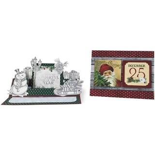 Bo Bunny Tis The Season Project Kit Christmas Card