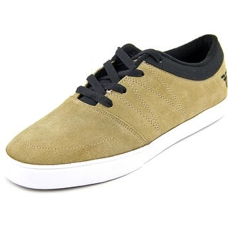 Fallen Roots Round Toe Suede Skate Shoe
