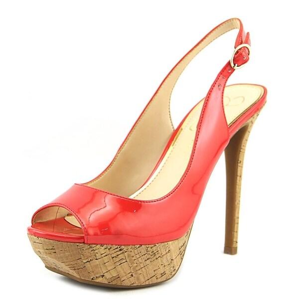 eb71bcd6de3 Shop Jessica Simpson Tacey Women Open Toe Patent Leather Platform ...