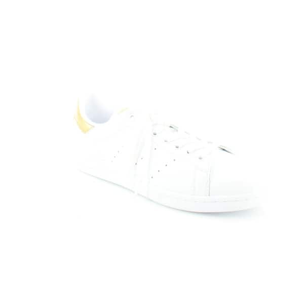 brand new 06130 48bba Shop Adidas Stan Smith Women's Fashion Sneakers White/Gold ...