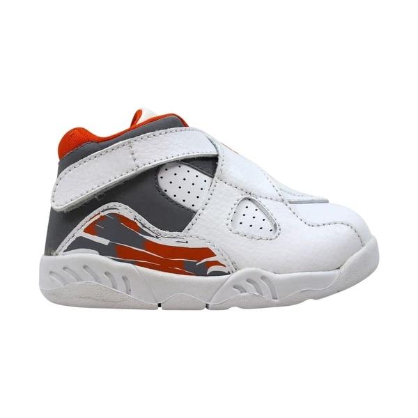 sports shoes e55a2 92ee8 Nike Air Jordan VIII 8 Retro TD White Stealth-Orange Blaze-Silver 305360