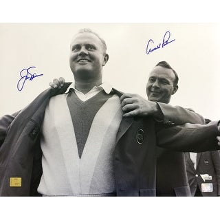 Arnold Palmer Jack Nicklaus Signed 16x20 Masters Photo Fanatics