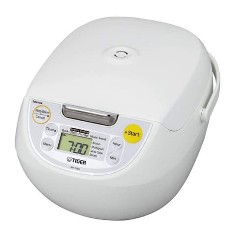 Tiger JBV-S18U 10-Cup Microcomputer Controlled 4-in-1 Rice Cooker