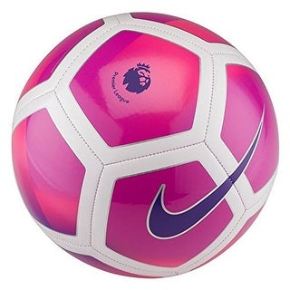 Nike Unisex Pitch League Soccer Ball - hyper violet/purple/white/purple