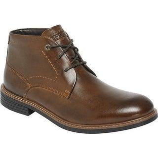 Rockport Men's Classic Break Chukka Boot Dark Brown Leather