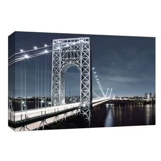 """PTM Images 9-148398  PTM Canvas Collection 8"""" x 10"""" - """"NYC at Dusk"""" Giclee New York Art Print on Canvas"""