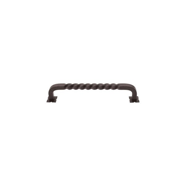 Top Knobs M1245-7 Normandy 7 Inch Center to Center Handle Appliance Pull - patina rouge