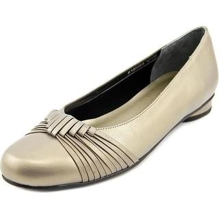 Mark Lemp By Walking Cradles Marlene Women Round Toe Synthetic Flats