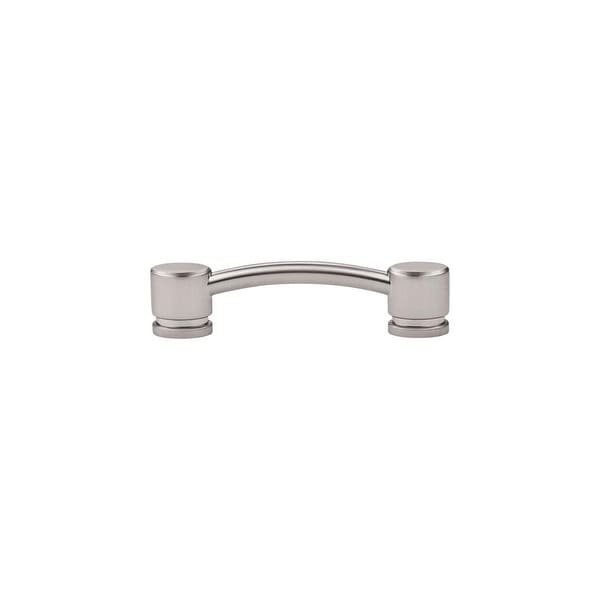 """Top Knobs TK63 Oval 3-3/4"""" Center to Center Handle Cabinet Pull from the Sanctuary Series - n/a"""