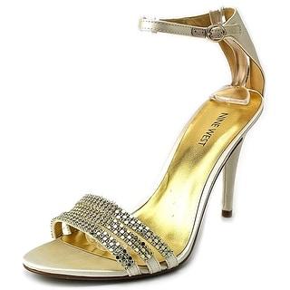 Nine West Sabrinna Women Open Toe Canvas Sandals