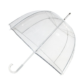 Totes Classic Clear Dome Bubble Umbrella