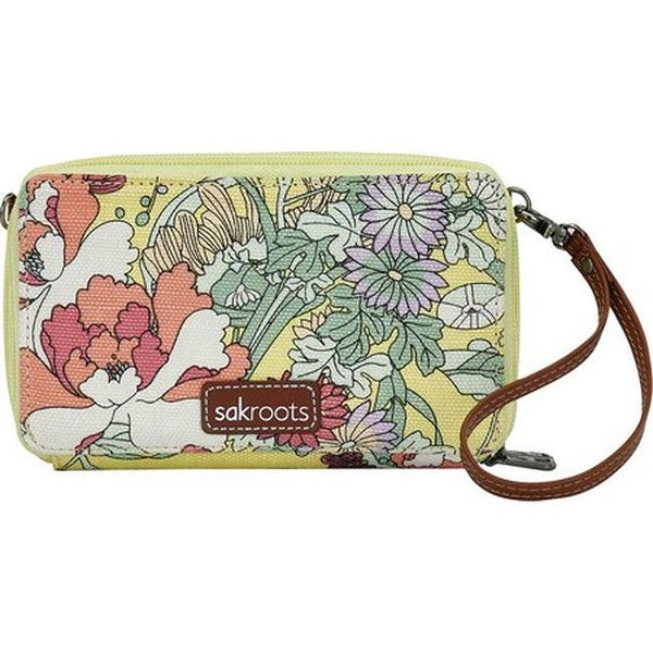 677c8e1dd Sakroots Women's Luna Smartphone Crossbody Sunlight Flower Power - US  Women&#