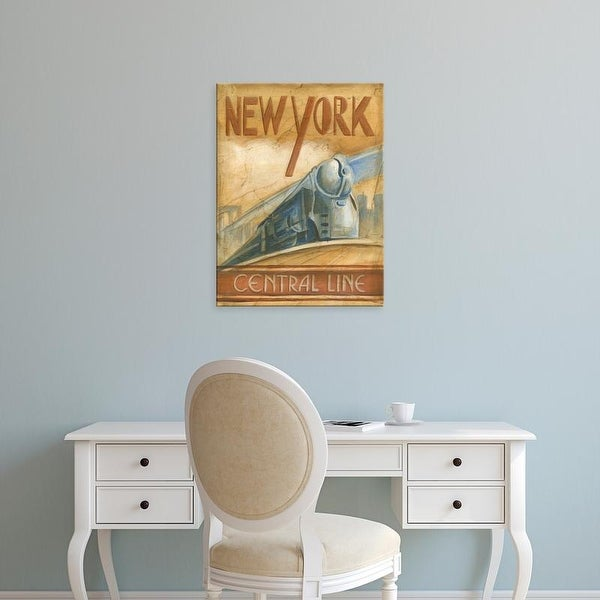 Easy Art Prints Ethan Harper's 'New York Central Line' Premium Canvas Art