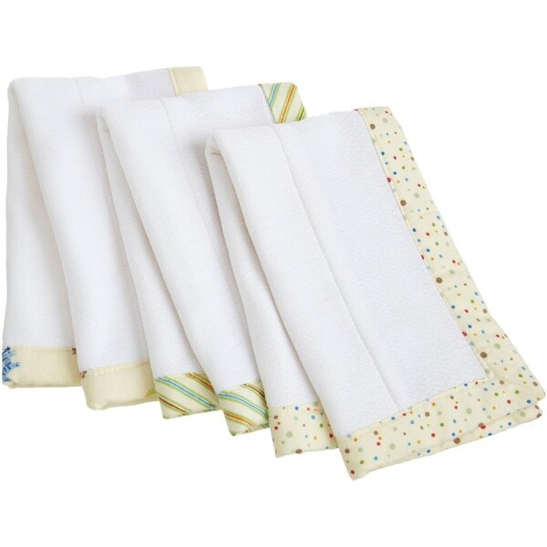 Carters Keep Me Dry Burp and Lap Pads - 3 Pack
