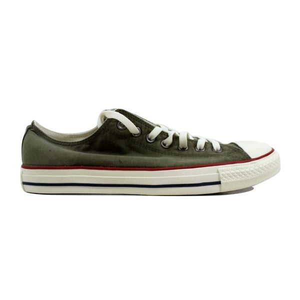 6a2961a45969 Shop Converse Men s Chuck Taylor All Star Ox Medium Olive Garnet ...