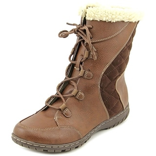 Naturalizer Romano Women Round Toe Synthetic Winter Boot