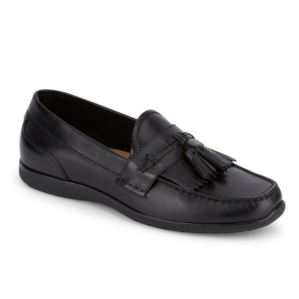 90bf0e3c37b Shop Dockers Mens Landrum Leather Dress Casual Tassel Loafer Shoe ...