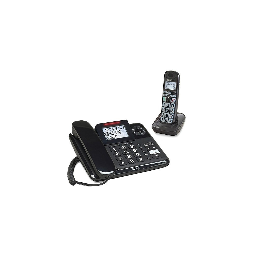 Clarity E814-1 E814CC Expandable Corded / Cordless Phone amplified upto 40dB NEW