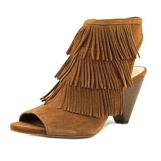 Vince Camuto Elsita Women  Open Toe Suede Tan Sandals