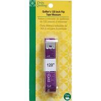 """Dritz Quilting Quilter's Flip Tape Measure-120"""" - Purple"""