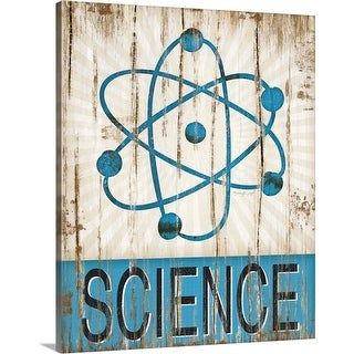"""Science"" Canvas Wall Art"