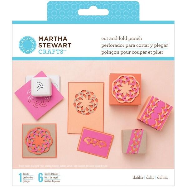 Martha Stewart Cut & Fold Punch-Dahlia