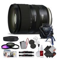 TamronSP 24-70mm f/2.8 Di VC USD G2 Lens for Canon EF International Version (No Warranty) Pro Kit - black
