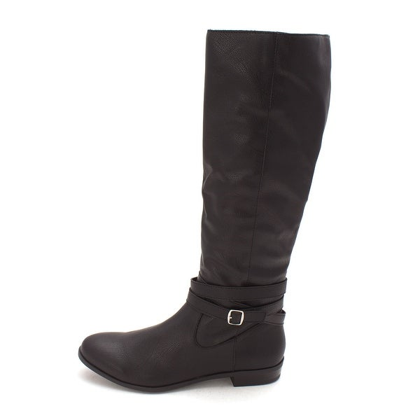 Style & Co. Womens FRIDDA Almond Toe Mid-Calf Fashion Boots
