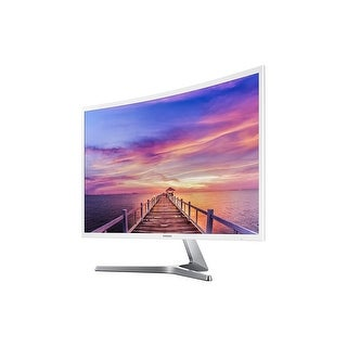 "Samsung 32"" LC32F397FWNXZA Curved Full HD LCD Monitor MagicBright FreeSync HDMI Glossy White (Manufacturer Refurbished)"