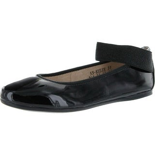Venettini Girls Kylee Dress Casual Flats With Ankle Strap
