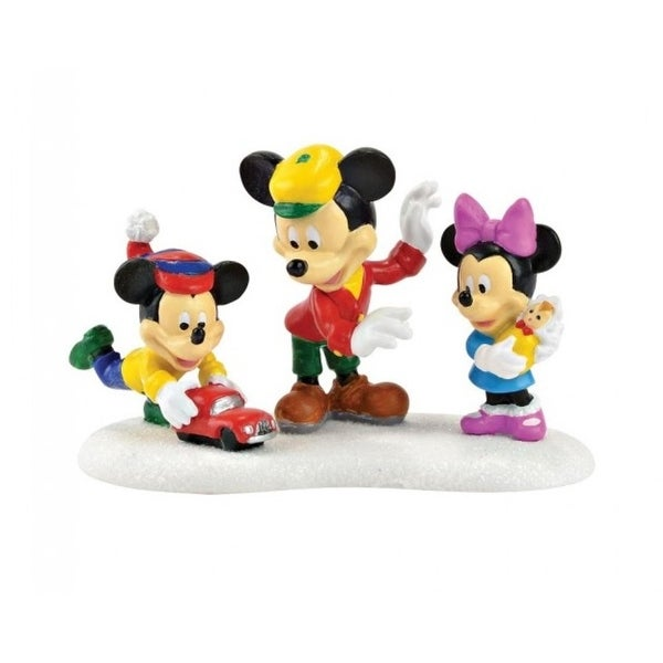 "Department 56 Disney ""Mickey's Toys"" Christmas Figurine #4049831"