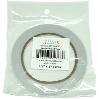 """Double Sided Adhesive Tissue Tape .125""""X27yds-"""