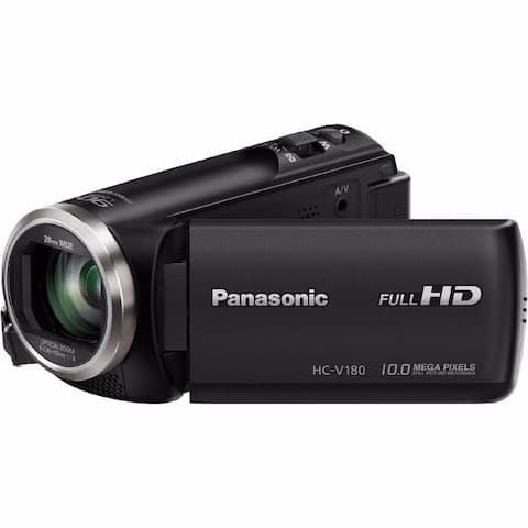 Panasonic HC-V180K Full HD Video Camera Camcorder (Refurbished)