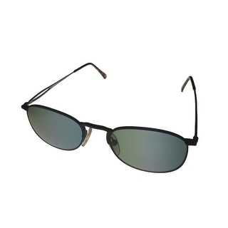 Perry Ellis Sunglass Black Tortoise Round Metal, Solid Smoke Lens PE SG 1012 - Medium