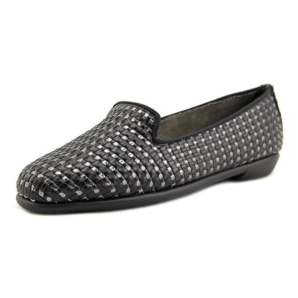 Aerosoles Betunia Women Round Toe Leather Black Loafer