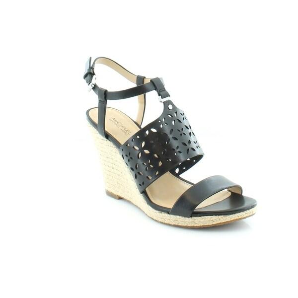 MICHAEL Michael Kors Darci Wedge Women's Sandals & Flip Flops Black