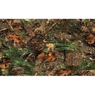 Custom Printed Rugs AWV049 Mixed Pine 18 x 30 in. Doormat Rug - Brown Brown & Tan