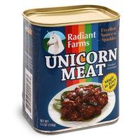 Canned Pratical Joke Unicorn Meat - multi