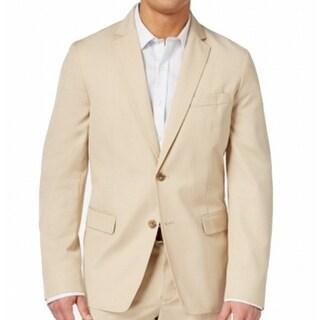 American Rag NEW Island Stone Beige Mens Size Small S Two Button Blazer
