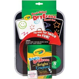 Crayola Dual-Sided Dry-Erase Board Set-