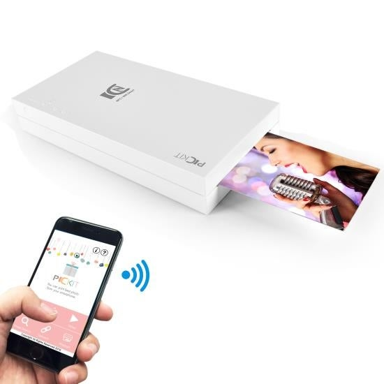 Portable Instant Photo Printer - Wireless Digital Picture Printing for iPhone or Android Smartphone Camera