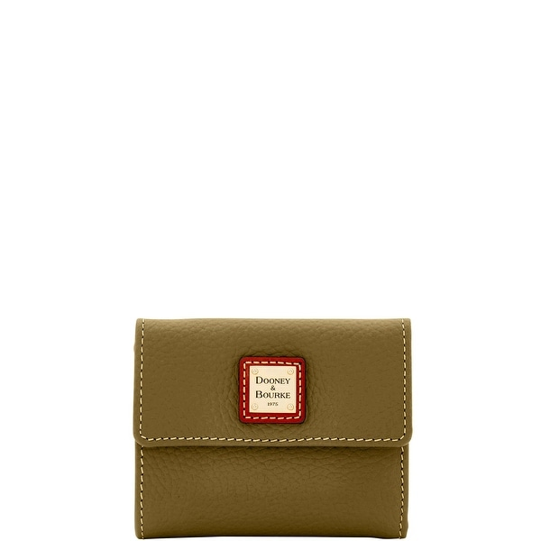 Dooney & Bourke Pebble Grain Small Flap Wallet (Introduced by Dooney & Bourke at $98 in Jul 2014)