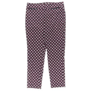 Nine West Womens Casual Pants Twill Printed