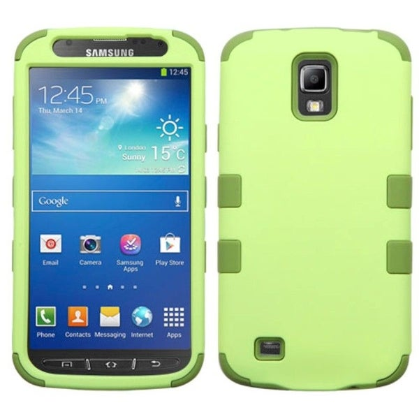 Insten Tuff Dual Layer Hybrid Rubberized Hard PC/ Silicone Case Cover For Samsung Galaxy S4 Active GT-I9295