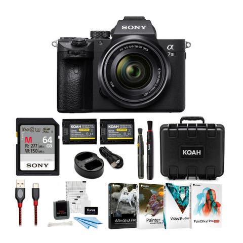 Sony a7 III Full Frame Mirrorless Camera with 28-70mm Lens Kit