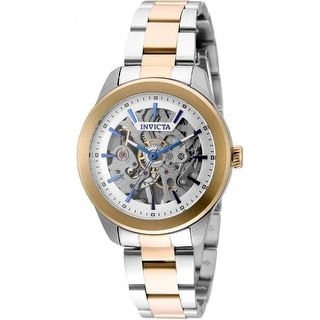 Link to Invicta Women's 32309 'Vintage' Automatic Leather Watch - Silver Similar Items in Women's Watches