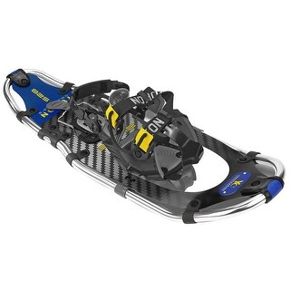 Yukon charlie's elite spin snowshoes 8x25 carbon/blue