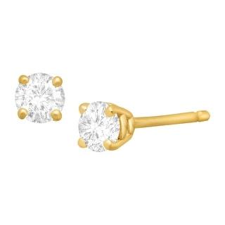 1/4 ct Diamond Stud Earrings in 14K Gold