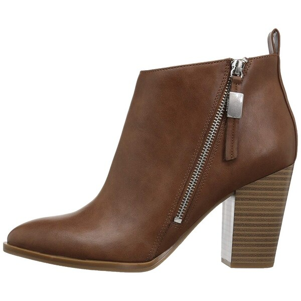 b114b4b1c0fc15 Circus by Sam Edelman Womens Blythe Leather Pointed Toe Ankle Fashion Boots  - 9.5